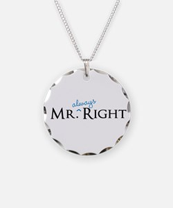 Mr always Right part of his and hers set Necklace