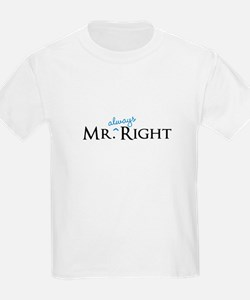 Mr always Right part of his and hers set T-Shirt
