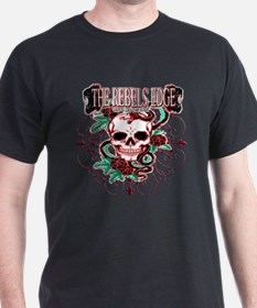 Skull , Iron and a Snake T-Shirt