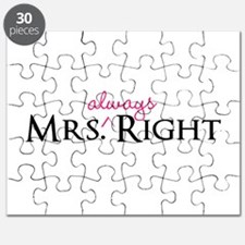 Mrs Always Right part of his and hers set Puzzle