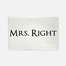 Mrs Right part of his and hers set Magnets