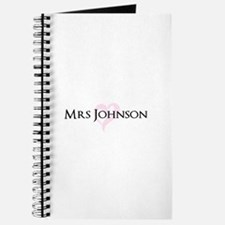Own name Mr and Mrs set - Heart Mrs Journal