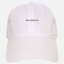 Own name Mr and Mrs set - Heart Mrs Baseball Baseball Cap