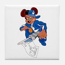 Gangsta Rat Tile Coaster