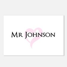 Own name Mr and Mrs set - Mr Postcards (Package of