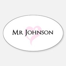 Own name Mr and Mrs set - Mr Decal