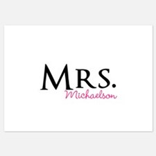 Your own name Mr and Mrs set - Mrs Invitations