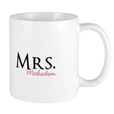 Your own name Mr and Mrs set - Mrs Mugs