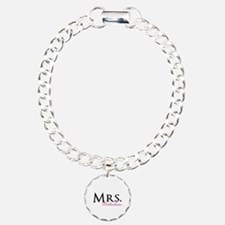 Your own name Mr and Mrs set - Mrs Bracelet