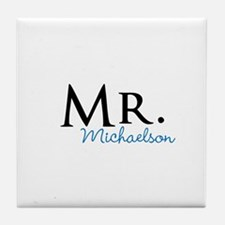 Your name Mr and Mrs set - Mr Tile Coaster