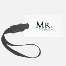 Your name Mr and Mrs set - Mr Luggage Tag