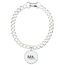 Your name Mr and Mrs set - Mr Charm Bracelet, One