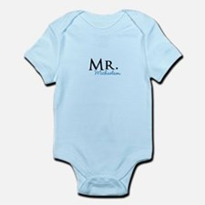 Your name Mr and Mrs set - Mr Body Suit