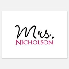 Customizable Mr and Mrs set - Mrs Invitations