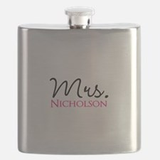 Customizable Mr and Mrs set - Mrs Flask