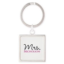 Customizable Mr and Mrs set - Mrs Keychains