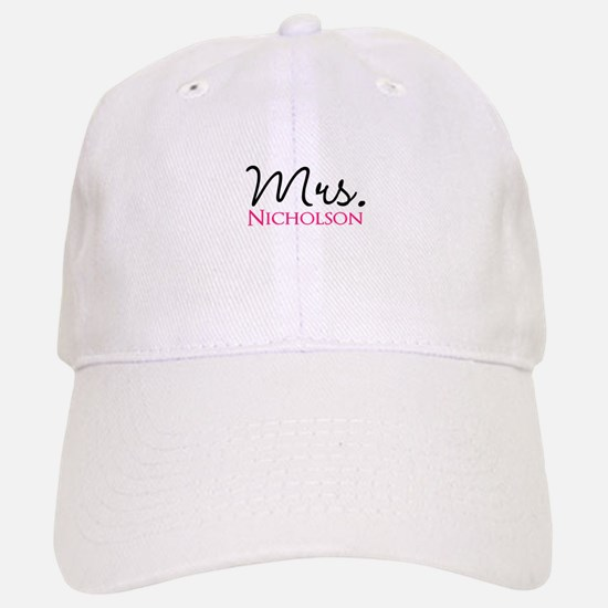 Customizable Mr and Mrs set - Mrs Baseball Baseball Cap