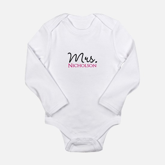 Customizable Mr and Mrs set - Mrs Body Suit