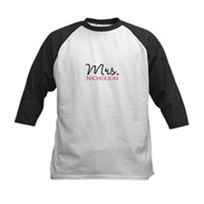 Customizable Mr and Mrs set - Mrs Baseball Jersey