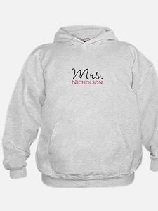 Customizable Mr and Mrs set - Mrs Hoody