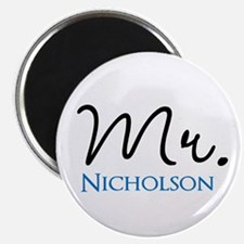 Customizable Mr and Mrs set - Mr Magnets