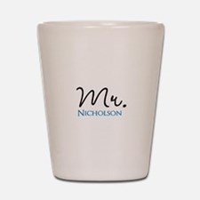 Customizable Mr and Mrs set - Mr Shot Glass