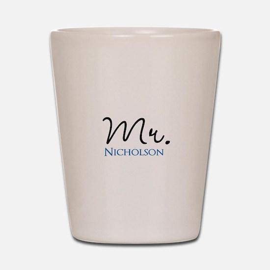 Customizable Mr and Mrs set - Mr Shot Glass