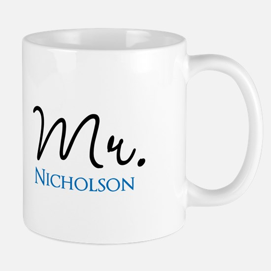 Customizable Mr and Mrs set - Mr Mugs