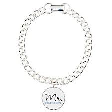 Customizable Mr and Mrs set - Mr Bracelet
