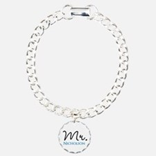 Customizable Mr and Mrs set - Mr Bracelet
