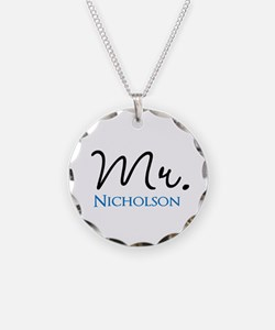 Customizable Mr and Mrs set - Mr Necklace