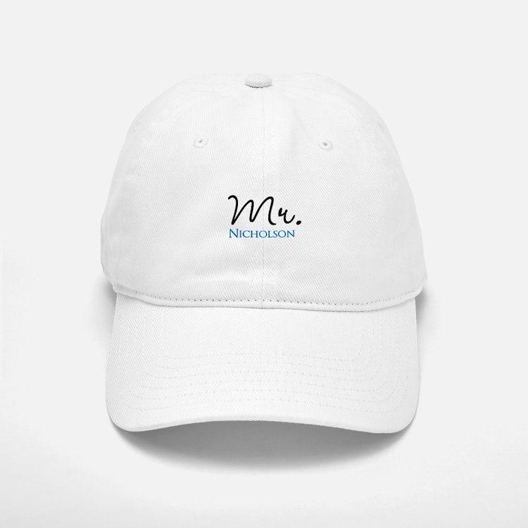 Customizable Mr and Mrs set - Mr Baseball Baseball Cap