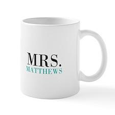 Custom name Mr and Mrs set - Mrs Mugs
