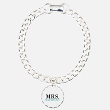 Custom name Mr and Mrs set - Mrs Bracelet