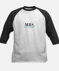 Custom name Mr and Mrs set - Mrs Baseball Jersey