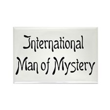mystery man Rectangle Magnet