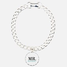 Custom name Mr and Mrs set - Mr Bracelet