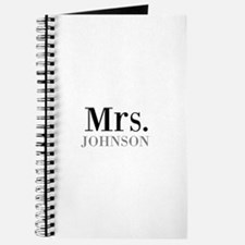 Customized Mr and Mrs set - Mrs Journal