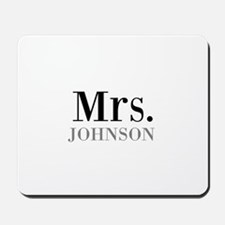 Customized Mr and Mrs set - Mrs Mousepad