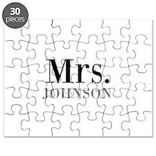 Customized Mr and Mrs set - Mrs Puzzle
