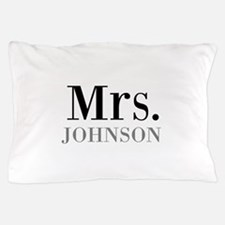 Customized Mr and Mrs set - Mrs Pillow Case