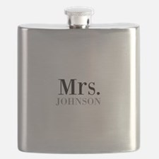 Customized Mr and Mrs set - Mrs Flask