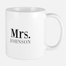 Customized Mr and Mrs set - Mrs Mugs