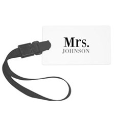 Customized Mr and Mrs set - Mrs Luggage Tag
