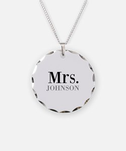 Customized Mr and Mrs set - Mrs Necklace