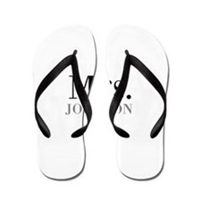 Customized Mr and Mrs set - Mrs Flip Flops