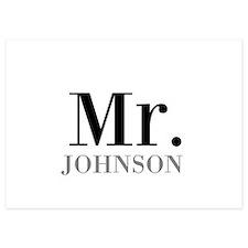 Customized Mr and Mrs set - Mr Invitations