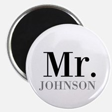 Customized Mr and Mrs set - Mr Magnets