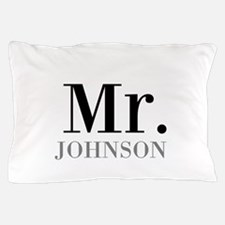 Customized Mr and Mrs set - Mr Pillow Case