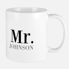 Customized Mr and Mrs set - Mr Mugs